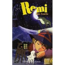 Cassette K7 vidéo VHS enfants Rémi Sans Famille - Volume 6 - Épisodes 18 À 20 occasion