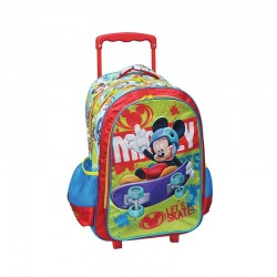 Sac à dos Trolley Mickey Disney cartable scolaire enfant neuf