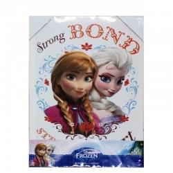 Tableau de toile imprimée Frozen - la reine des neiges - Anna et Elsa neuf