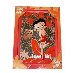 Miroir décoratif Betty Boop 20 x 34 cm neuf emballé idée déco cadeau collection