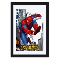 Miroir décoratif spider-man 22 x 32 cm neuf emballé idée cadeau collection