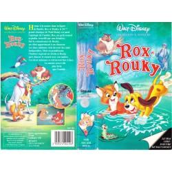 Cassette k7 vidéo vhs enfants ROX ET ROUKY (Walt Disney) occasion