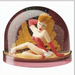Boule de neige girl humour sexy idée déco cadeau collection neuf