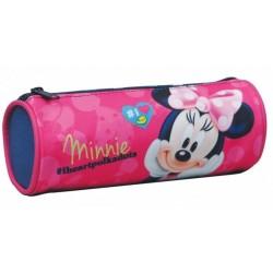 Trousse Minnie licence officielle Disney fille fourniture scolaire cartable école enfant neuve