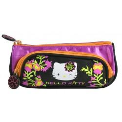 Trousse Hello Kitty licence officielle fille avec 2 compartiments fournitures rentrée scolaire neuve 03