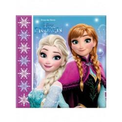 Lot de 20 Serviettes papier La Reine des neiges Frozen anniversaire fille neuve