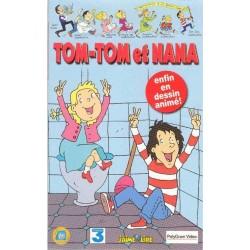 Cassette k7 video vhs enfants TOM TOM ET NANA VOLUME 1 / 9 épisodes occasion