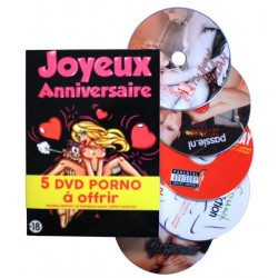 COFFRET DVD JOYEUX ANNIVERSAIRE SEXY HUMOUR
