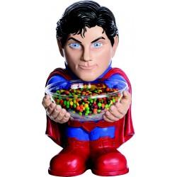 Pot à bonbons Superman™ 50 cm de hauteur anniversaire fête cadeau neuf