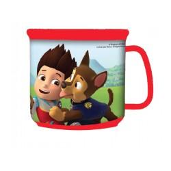 Tasse Mug plastique avec poignet Pat patrouille Paw Patrol garcon IDEE CADEAU ENFANT NEUF
