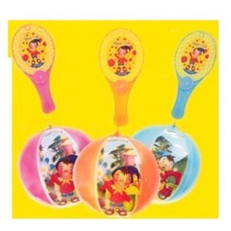 Ballon Tap Ball oui oui RAQUETTE + BALLON 20 CM jouet Plein air neuf