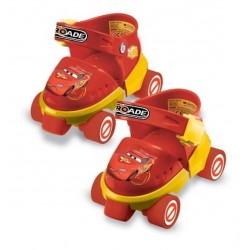 Set Roller patins a roulettes cars + protections - genouillères et coudières licence officielle Disney plein air neuf