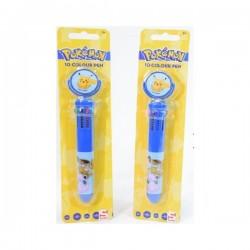 Stylo 10 Couleurs Pokemon fourniture scolaire enfant neuf