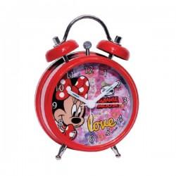Réveil métal Minnie licence officielle Disney enfant fille chambre idée cadeau anniversaire noel neuf