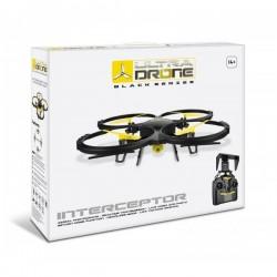 Drone radiocommandé +caméra ULTRADRONE Interceptor BLACK SERIES SD 4 GB idée cadeau anniversaire NOËL neuf