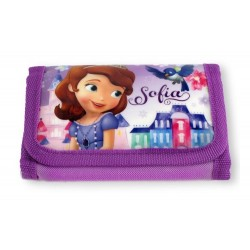 Portefeuille Princesse Sofia licence officielle Disney enfant fille neuf