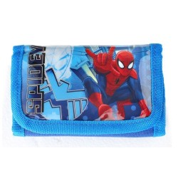 Portefeuille Spiderman licence officielle Marvel Comics enfant garcon neuf