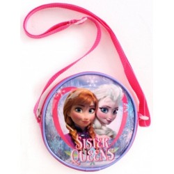 Sac bandoulière rond Frozen - la reine des neiges Disney jeux jouet enfant fille neuf