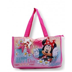 Sac de plage piscine Minnie licence officielle Disney enfant fille plage piscine sac a main neuf
