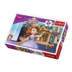 Puzzle 60 pièces marque TREFL Princesse Sofia Disney jeux jouet idée cadeau anniversaire noel neuf