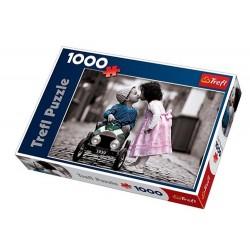 Puzzle 1000 pièces Bisous marque TREFL grande qualité jeux idée cadeaux anniversaire noel neuf