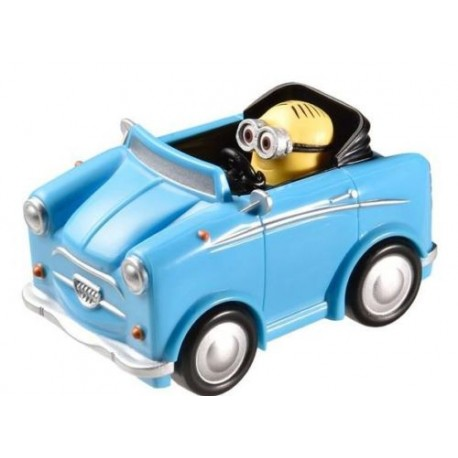 Véhicules miniature Minions 1/43 eme 4 modèles a collectionner LICENCE OFFICIELLE 01 neuf