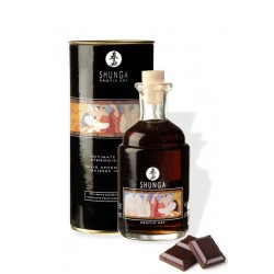 HUILE APHRODISIAQUE SHUNGA CHOCOLAT ADULTE AMOUR HOT