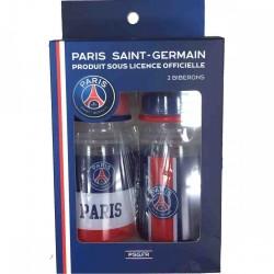 Lot de 2 biberons Paris Saint germain NEUF FOOT ENFANT PSG