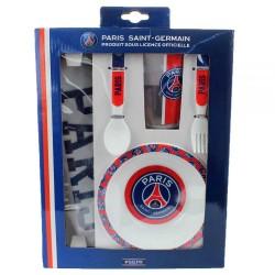 Set repas 5 pièces Licence officiel Paris Saint-Germain PSG ENFANT idée cadeau anniversaire noel NEUF