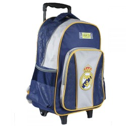 Sac a dos cartable Trolley Real Madrid 32x43x18 cm FOOT ENFANT SCOLAIRE NEUF