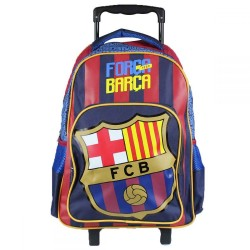 Sac cartable Trolley FC Barcelone 32x43x18 cm NEUF FOOT ENFANT scolaire neuf