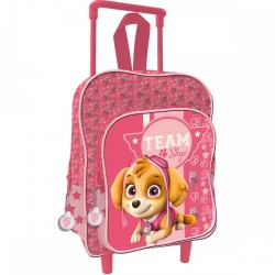 Cartable Sac a dos Trolleys 41 cm PAT PATROUILLE Paw Patrol Skye fille ENFANT SCOLAIRE NEUF
