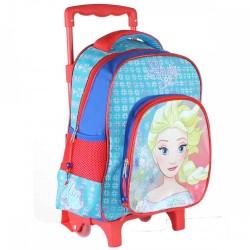 Sac à dos Trolley La Reine des Neiges Frozen Disney 27x31x10 cm ENFANT SCOLAIRE NEUF