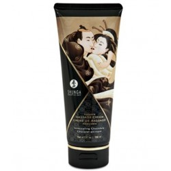 CREME DE MASSAGE 200ML CHOCOLAT MASSAGE SENSUELLE ADULTE PLAISIR NEUF