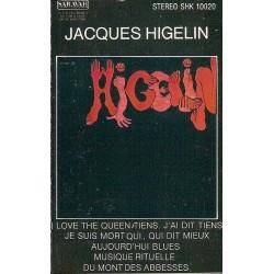 """Cassette audio K7 AUDIO JacquesHigelin """"Musique rituelle du Mont des Abbesses"""" occasion"""