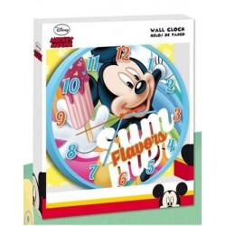 Pendule horloge murale ronde Mickey Disney déco chambre idée cadeau neuf