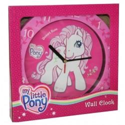 Pendule horloge murale ronde My Little Pony petit poney déco chambre idée cadeau neuf