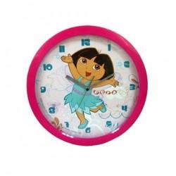 Pendule horloge murale ronde Dora 02 déco chambre idée cadeau neuf