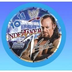 Pendule horloge murale ronde catch Undertaker WWE déco chambre idée cadeau neuf