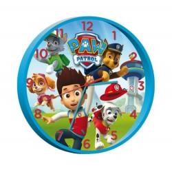 Pendule horloge murale ronde Paw Patrol pat patrouille déco chambre idée cadeau neuf