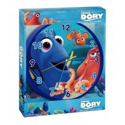 Pendule horloge murale ronde Dory Disney déco chambre idée cadeau neuf