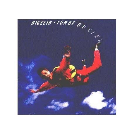 Jacques Higelin - Tombé du ciel - K7 audio album de 1988. - Cassette audio