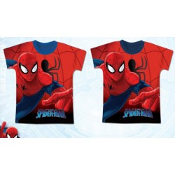t-shirt manches courtes Spiderman V2 ENFANT VETEMENT NEUF