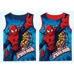 Débardeur t shirt Spiderman du 3 au 8 ans licence officielle Marvel vêtement enfant garçon NEUF