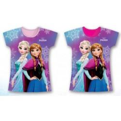 T Shirt manches courtes La Reine des Neiges du 3 au 8 ans licence officielle Disney VETEMENT NEUF