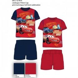 Pyjama Court 2 pièces Cars ENFANT du 2 au 6 ans GARCON VETEMENT SOUS LICENCE OFFICIELLE DISNEY NEUF