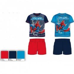 Pyjama Court 2 pièces Spiderman du 2 au 6 ans GARCON VETEMENT SOUS LICENCE OFFICIELLE MARVEL NEUF