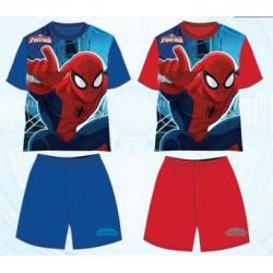 Pyjama Court Spiderman v2 ENFANT GARCON VETEMENT NEUF