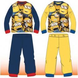 Ensemble Pyjama Les Minions du 4 au 12 ans GARCON VETEMENT SOUS LICENCE OFFICIELLE NEUF