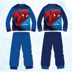 Ensemble Pyjama Long Spiderman du 3 au 8 ans GARCON VETEMENT SOUS LICENCE OFFICIELLE MARVEL NEUF